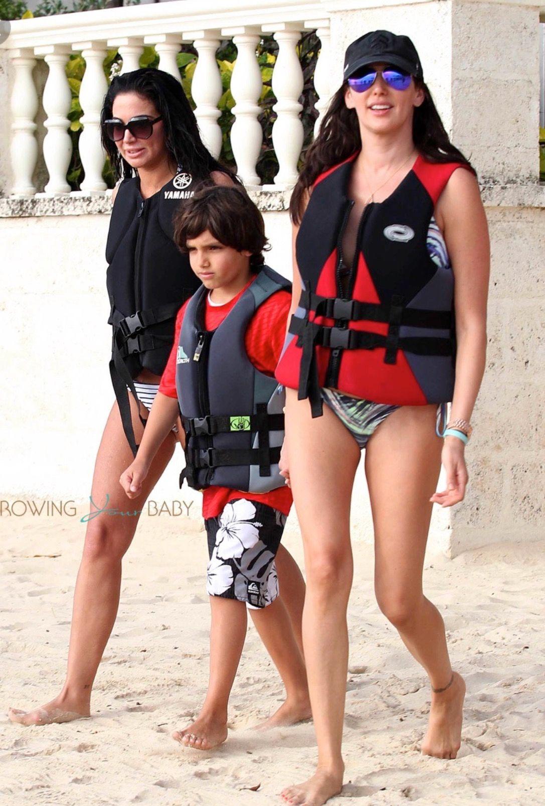Lauren Silverman With Her First Son Adam Silverman Born Or