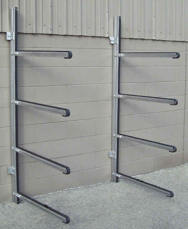 Superb Trailex Four Position Wall Rack For Canoes Or Kayaks