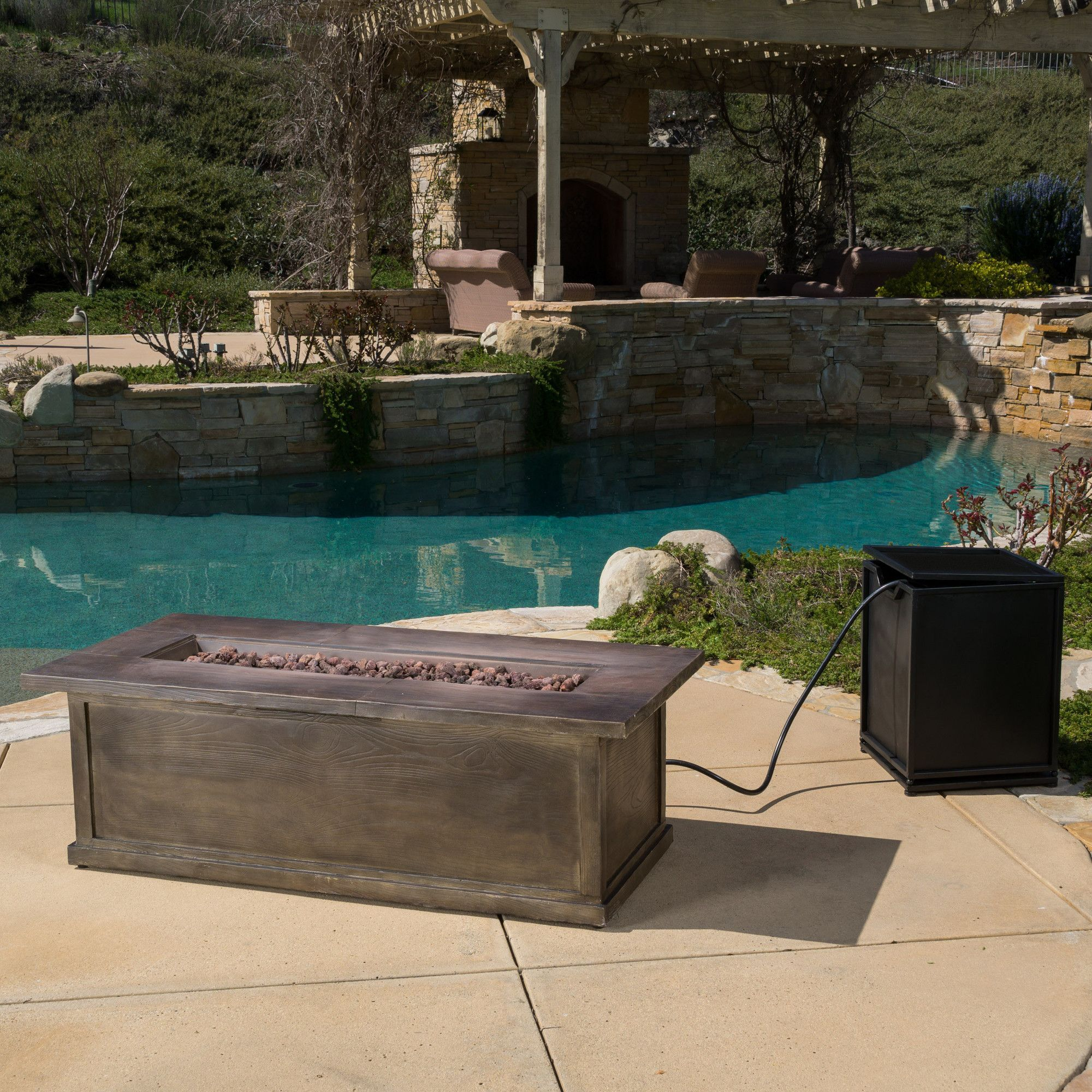 capistrano metal propane fire pit table products pinterest