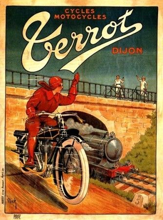 affiche publicitaire cycles vintage signage pinterest affiches publicitaires cycle et. Black Bedroom Furniture Sets. Home Design Ideas