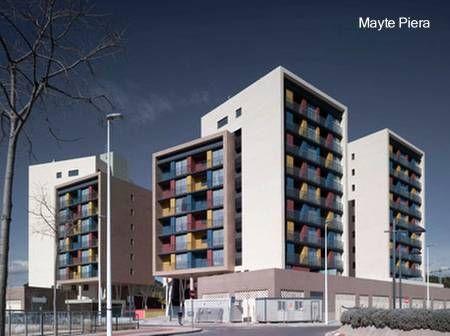 Edificios de apartamentos edificios pinterest for Edificios modernos minimalistas