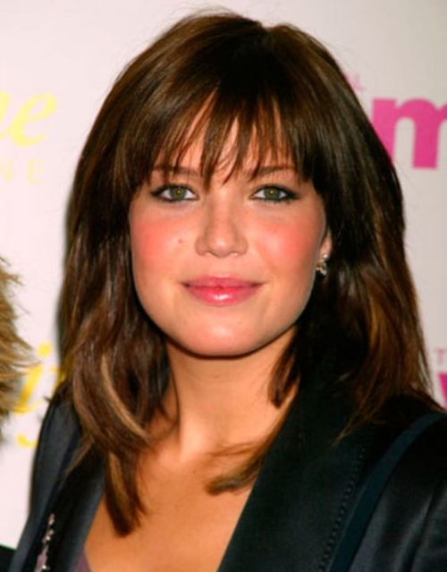 Haircuts Bangs And Layers Over 50 Celebrities Rocking Some Y 28 Photos
