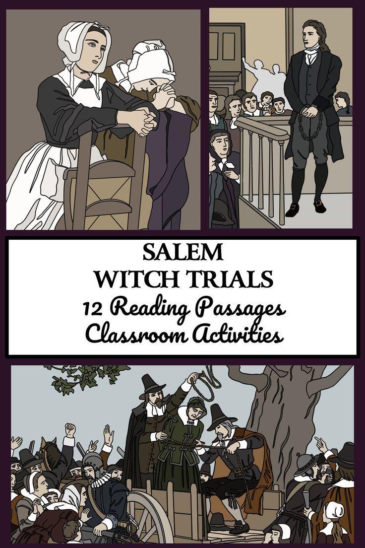 SALEM WITCH TRIALS Reading Comprehension DISTANCE
