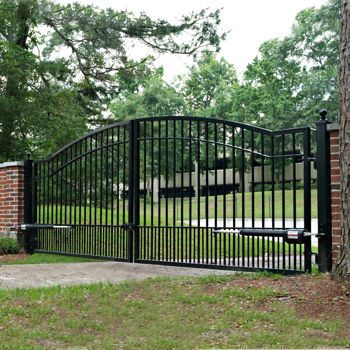 14 Mighty Mule Cascade Driveway Gate Costco Home