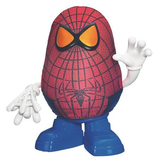 Mr Potato Head Spider Man?  Yes Please!  What kid doesn't love a superhero potato.