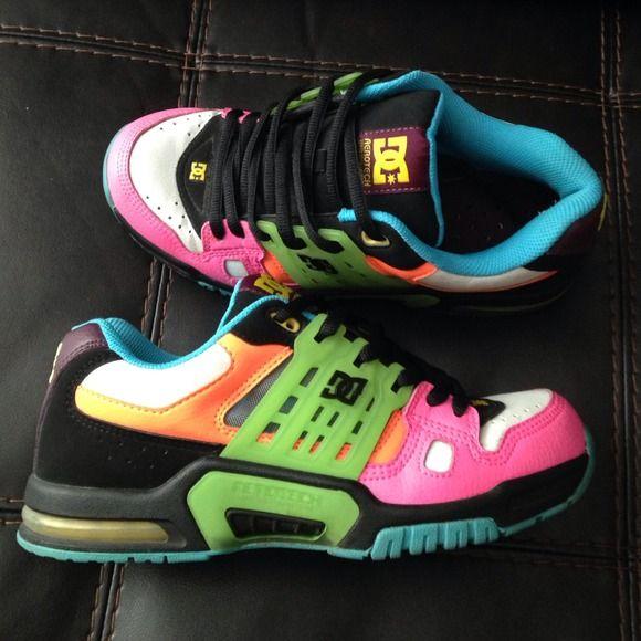 Colorful DC shoes | Dc shoes, Shoes