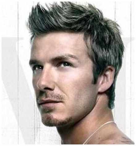 David Beckham Perhaps The Most Celebrated Sports Personality Yet - David beckham armani hairstyle