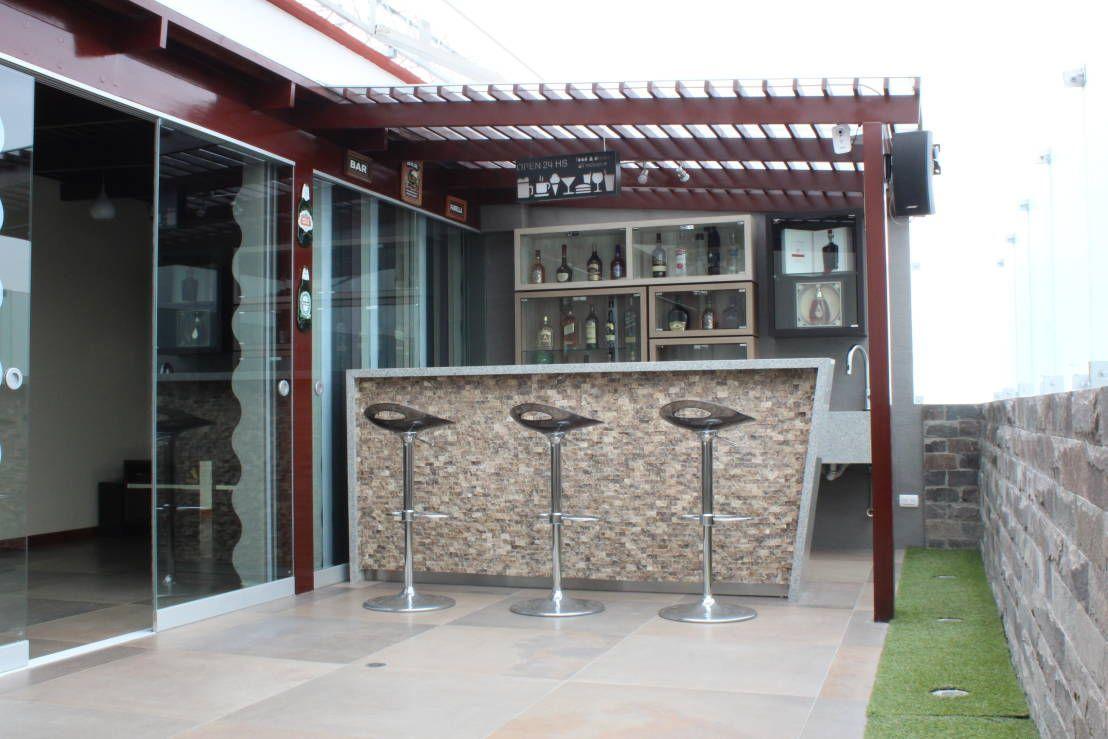 10 Ideas Para Construir Un Minibar En La Azotea De Tu Casa Homify Homify Bar Terraza Bar En Casa Bar Exterior