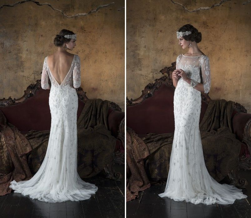 Gatsby Wedding Gown: 30 Of The Most Beautiful Long Sleeve Wedding Dresses For