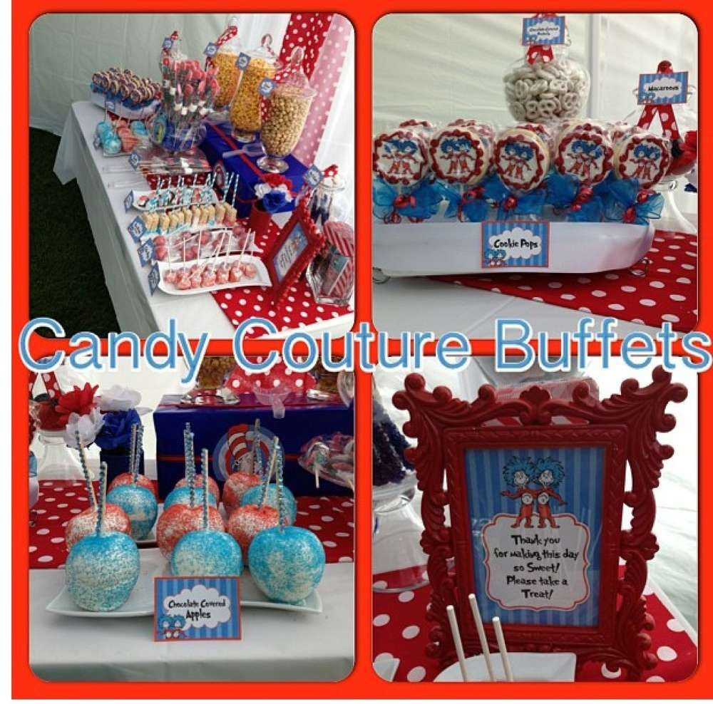 Thing 1 Thing 2 Baby Shower Party Ideas