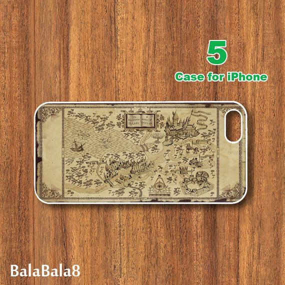 iPhone  4 caseiphone 5 Case Harry Potter Marauder's by BaLaBaLa8, $14.99