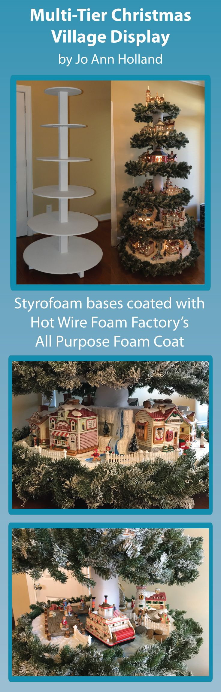 Xmas Village Display Ideas (with Pictures) | paramountgolfforeste.info