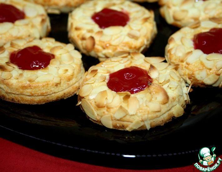 Очное печенье с вареньем Популярные фото- рецепты