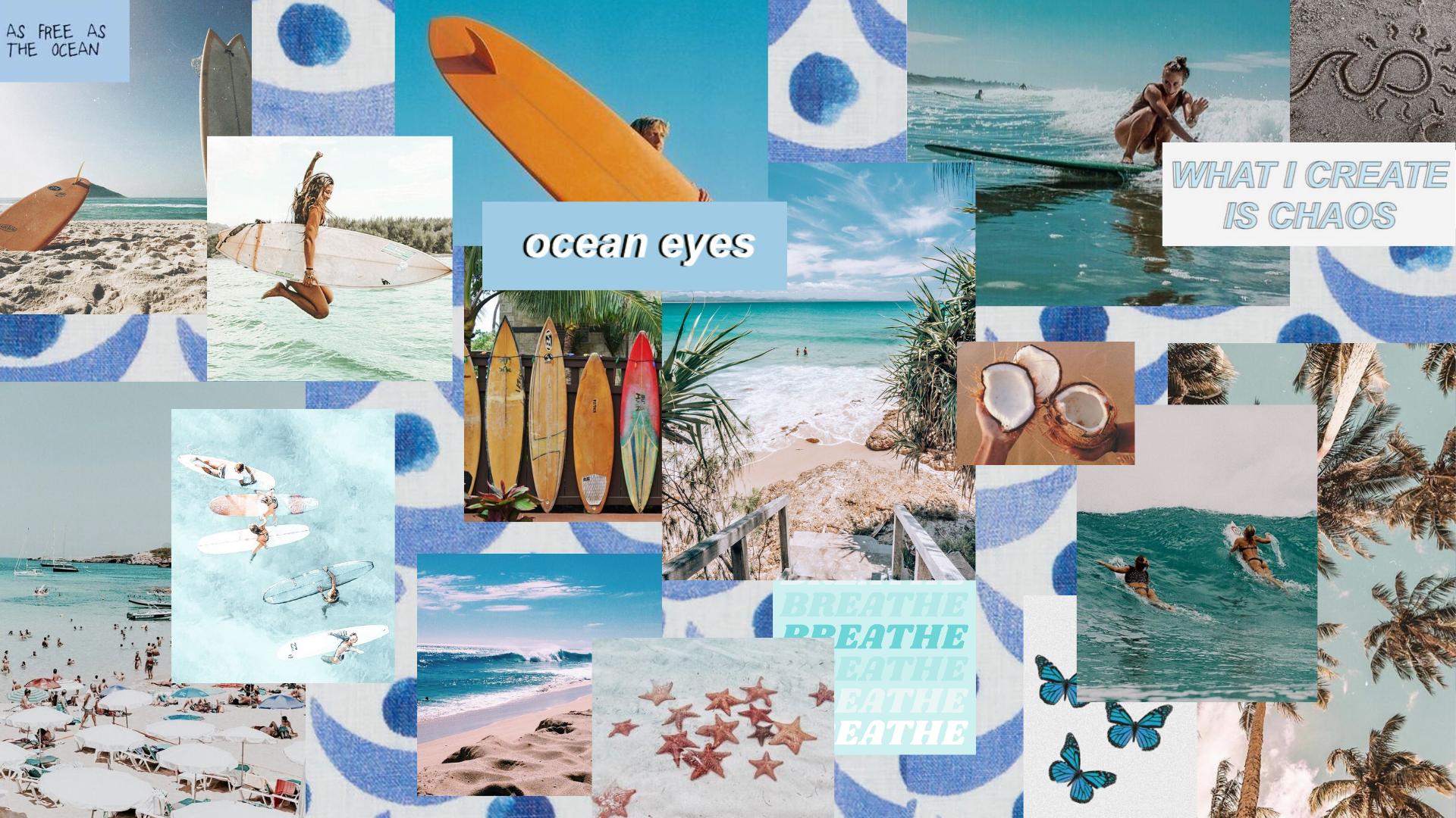 theme collage aesthetic desktop wallpaper laptop