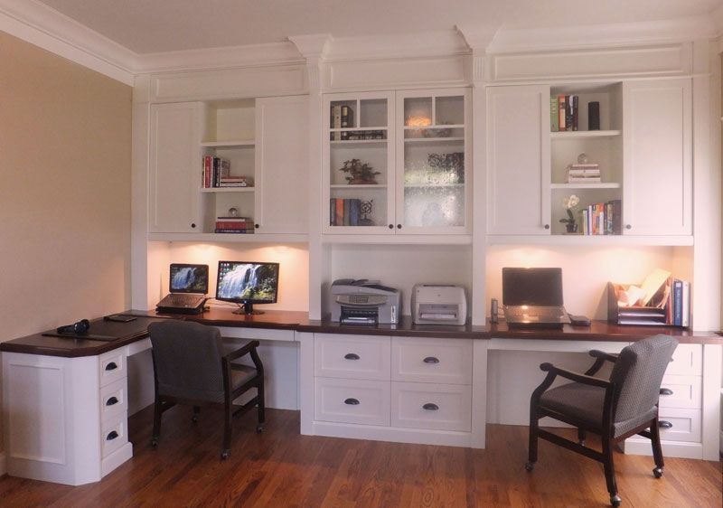 dual work stations with seeded glass display cabinet house deco. Black Bedroom Furniture Sets. Home Design Ideas