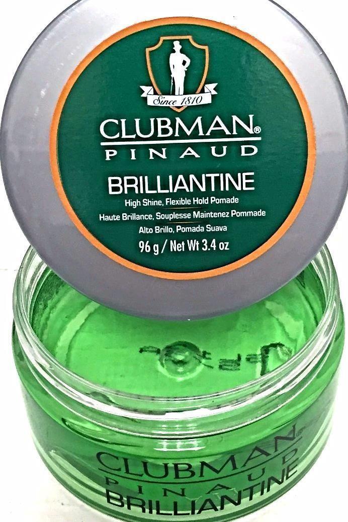 Clubman Pinaud Brilliantine Classic Hair Gel Pomade Edge Control Men