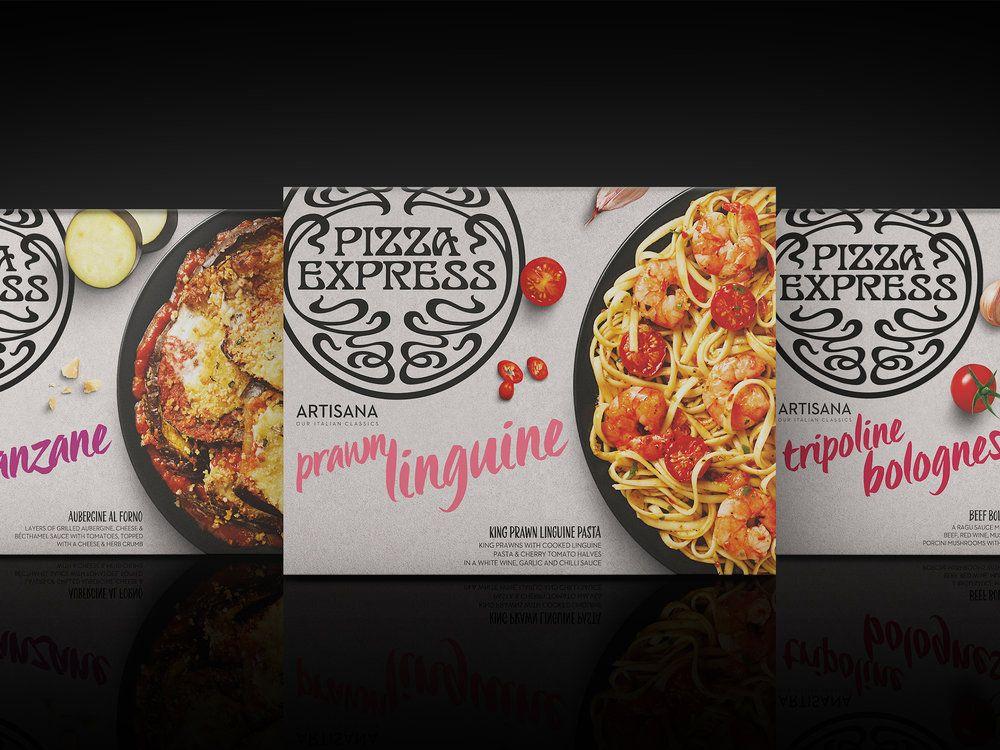 PizzaExpress Artisana — The Dieline - Branding & Packaging Design
