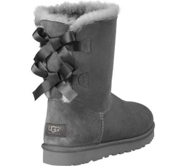 Ugg Bow Leather Boots Boots In Tube In 2019 Uggs