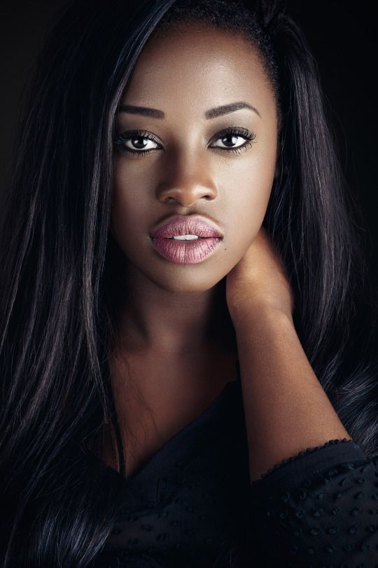 sexy ebony lips