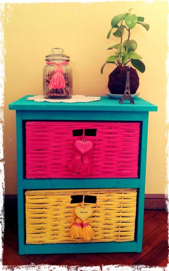 Cajonerita vintage y reciclado muebles artesanales 801036 manualidades tutoriales - Decoracion vintage reciclado ...