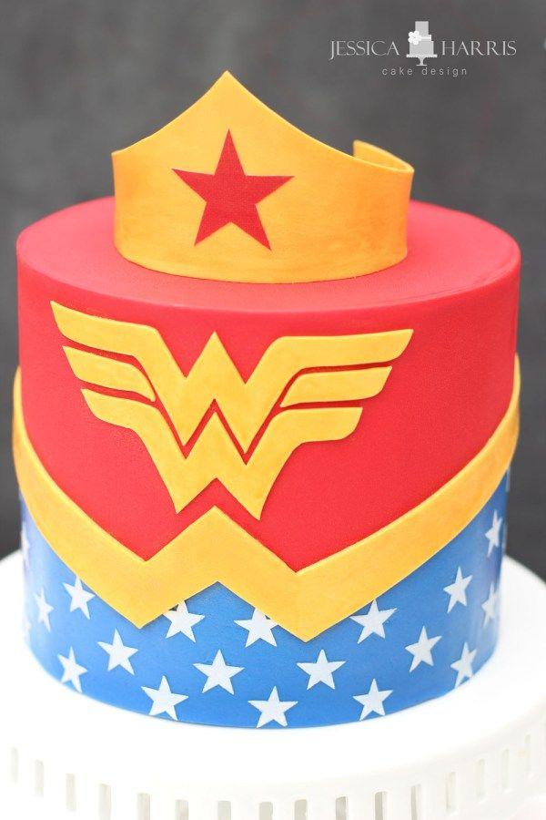 Wonder Woman Cake Cakes Wonder Woman Cake Cake Superhero Cake