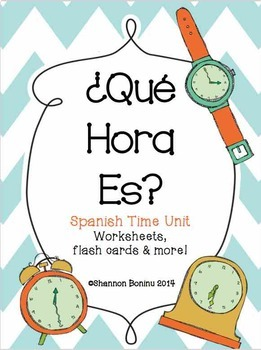 50+ Quoet telling time in spanish practice worksheets info