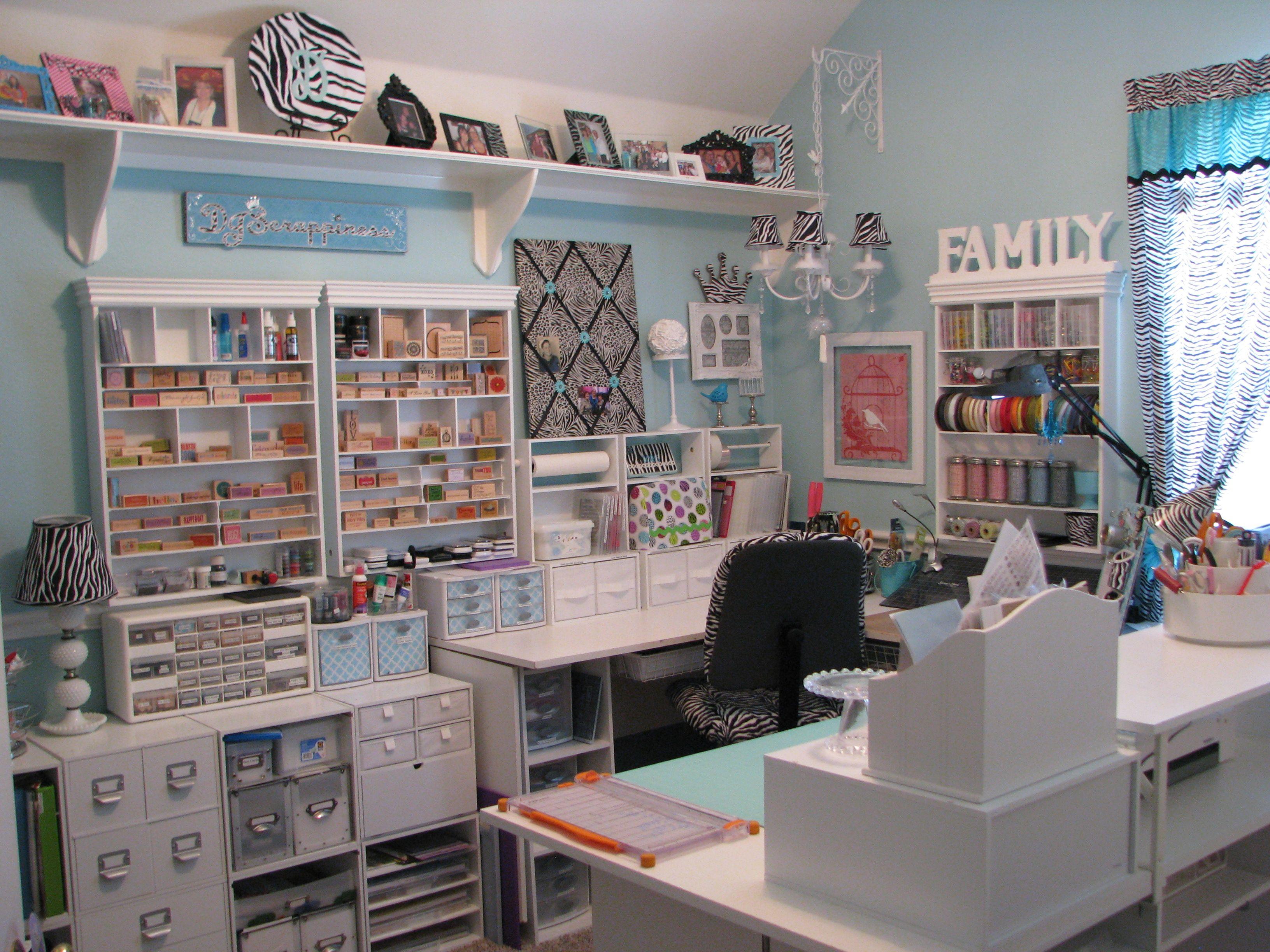 Craft Room Storage and Organization Ideas IMG
