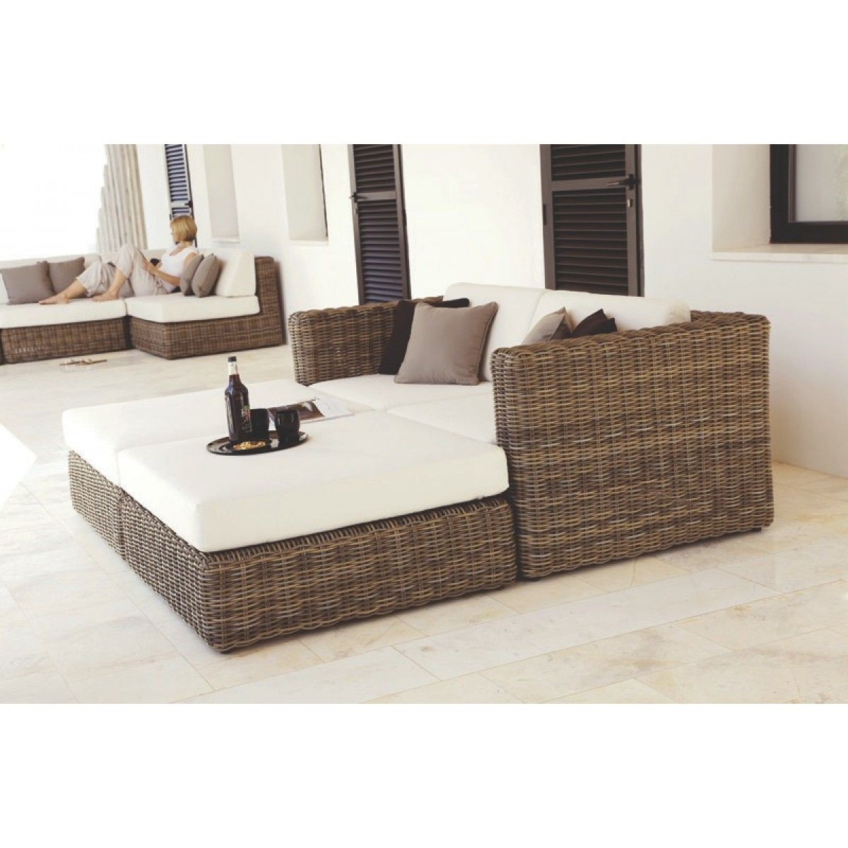 Furniture · Outdoor Furniture : Havana Modular Ottoman