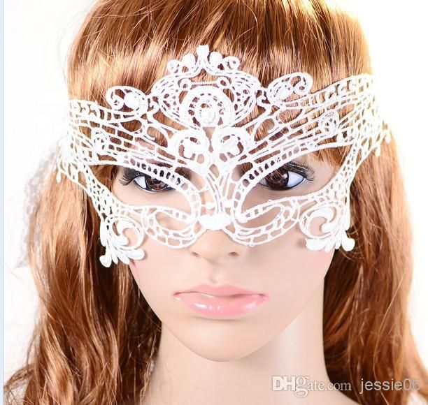 Masquerade Lace Masks Catwoman Happy Halloween Cutout Prom Party Accessories