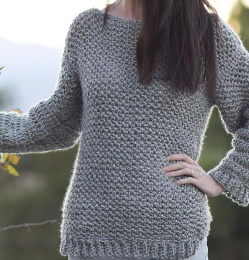 Knit Like Crochet Sweater Crochet Crochet Clothes And Crochet