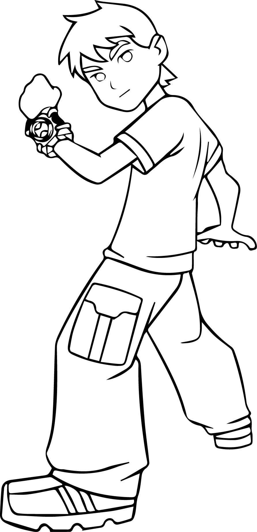 nice Free Ben 10 Coloring Pages Print (1) | Mcoloring | Pinterest