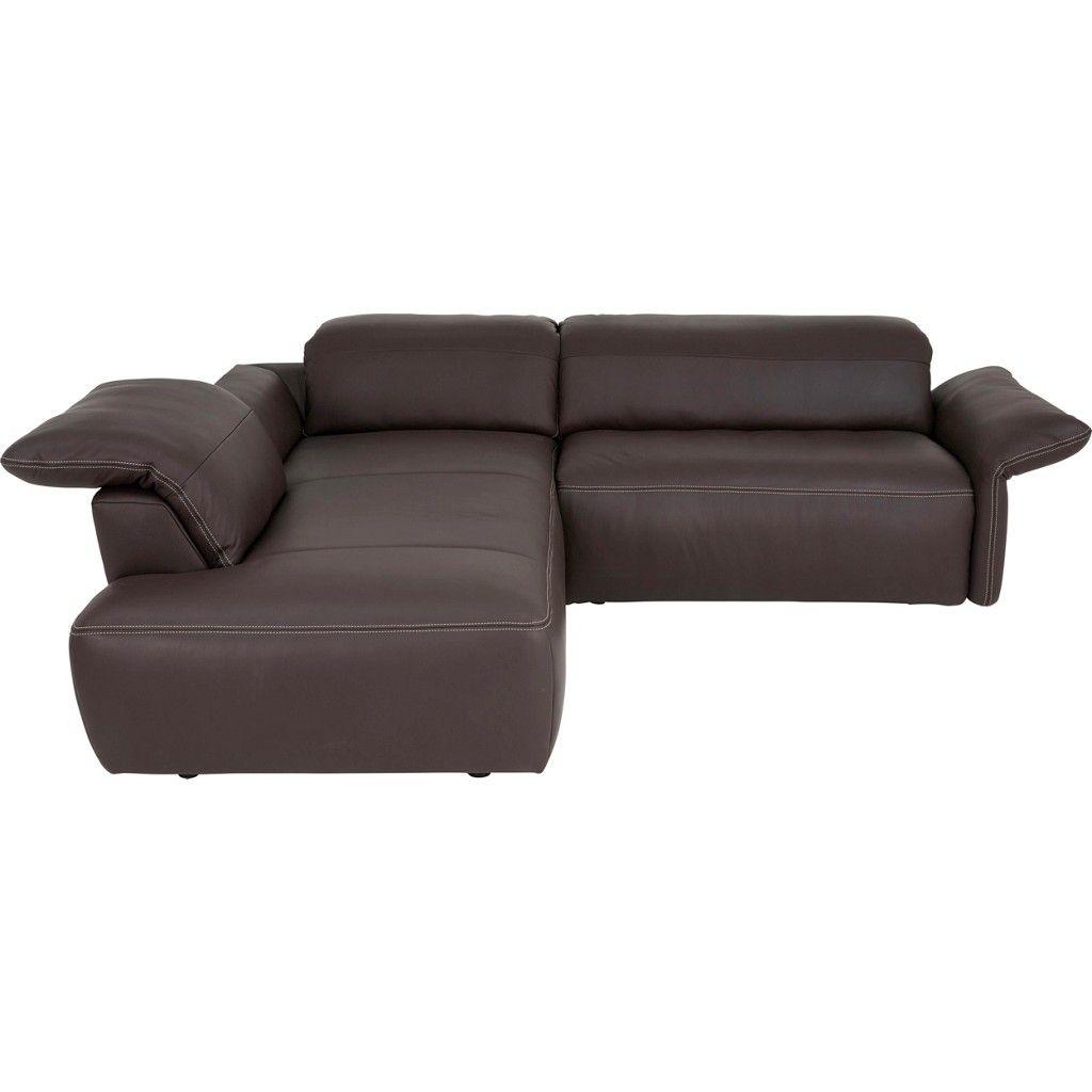 dieter knoll wohnlandschaft echtleder inkl armteilverstellung kopfteilverstellung braun jetzt. Black Bedroom Furniture Sets. Home Design Ideas