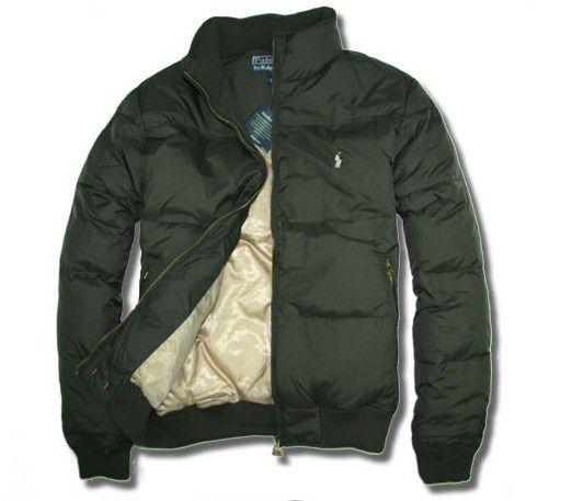 b86ae3b0ca5 doudoune ralph lauren polo manteau small pony coton vert Doudoune Ralph  Lauren Noir