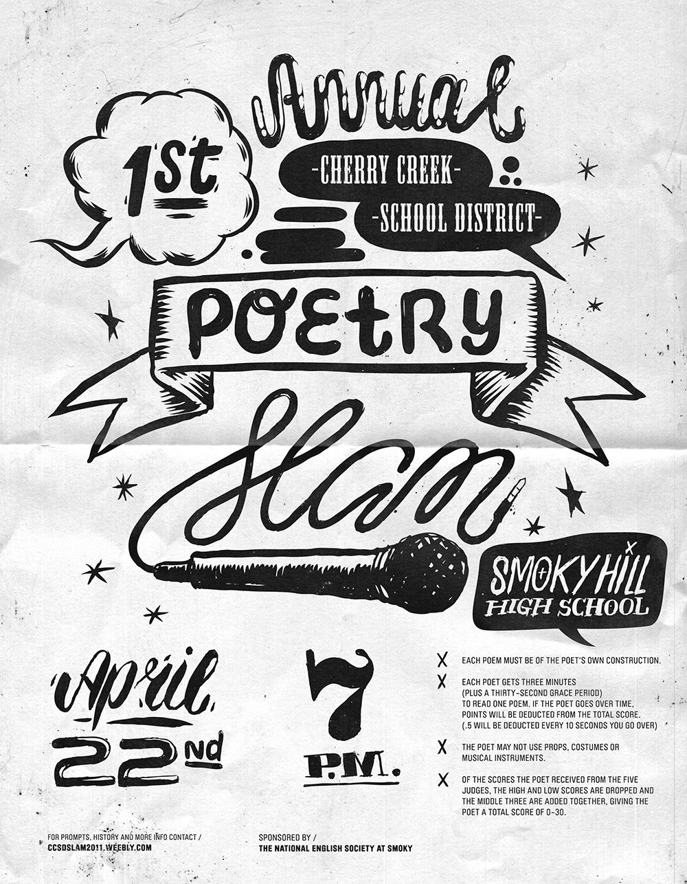 Typography Flyer   Google Search