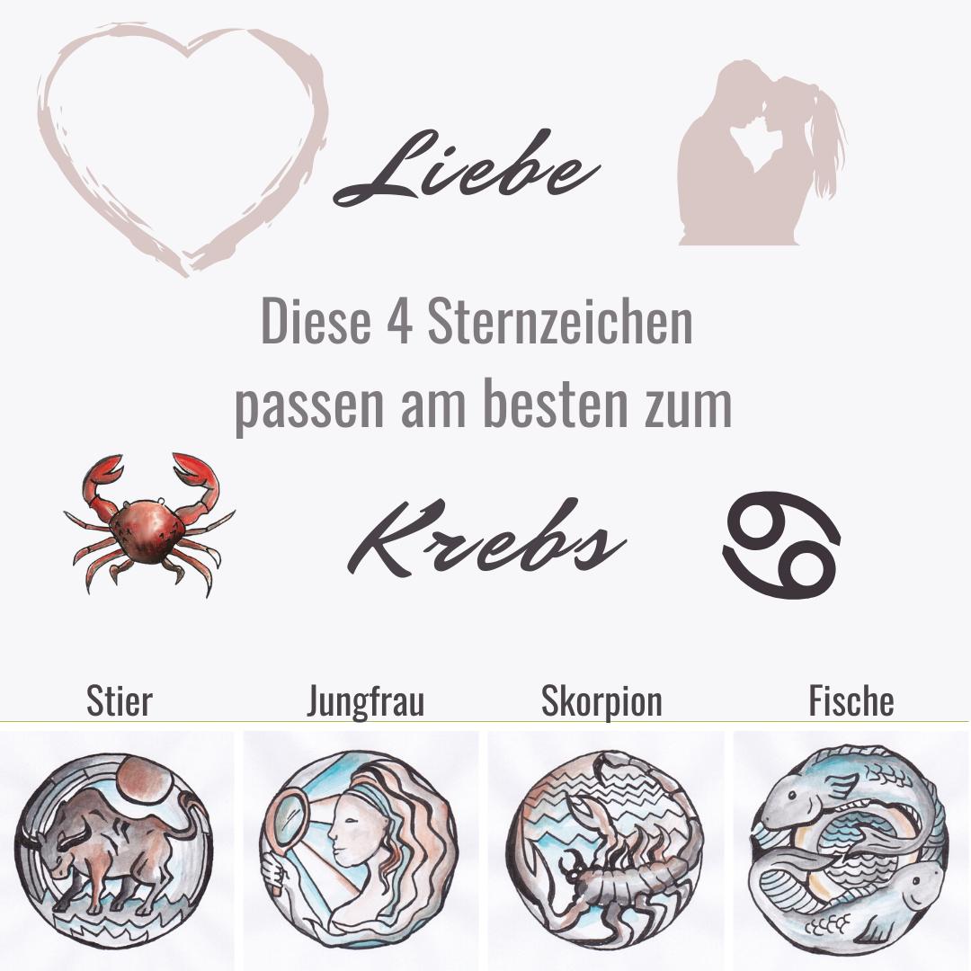 Morgen horoskop krebs liebe Liebeshoroskop Krebs