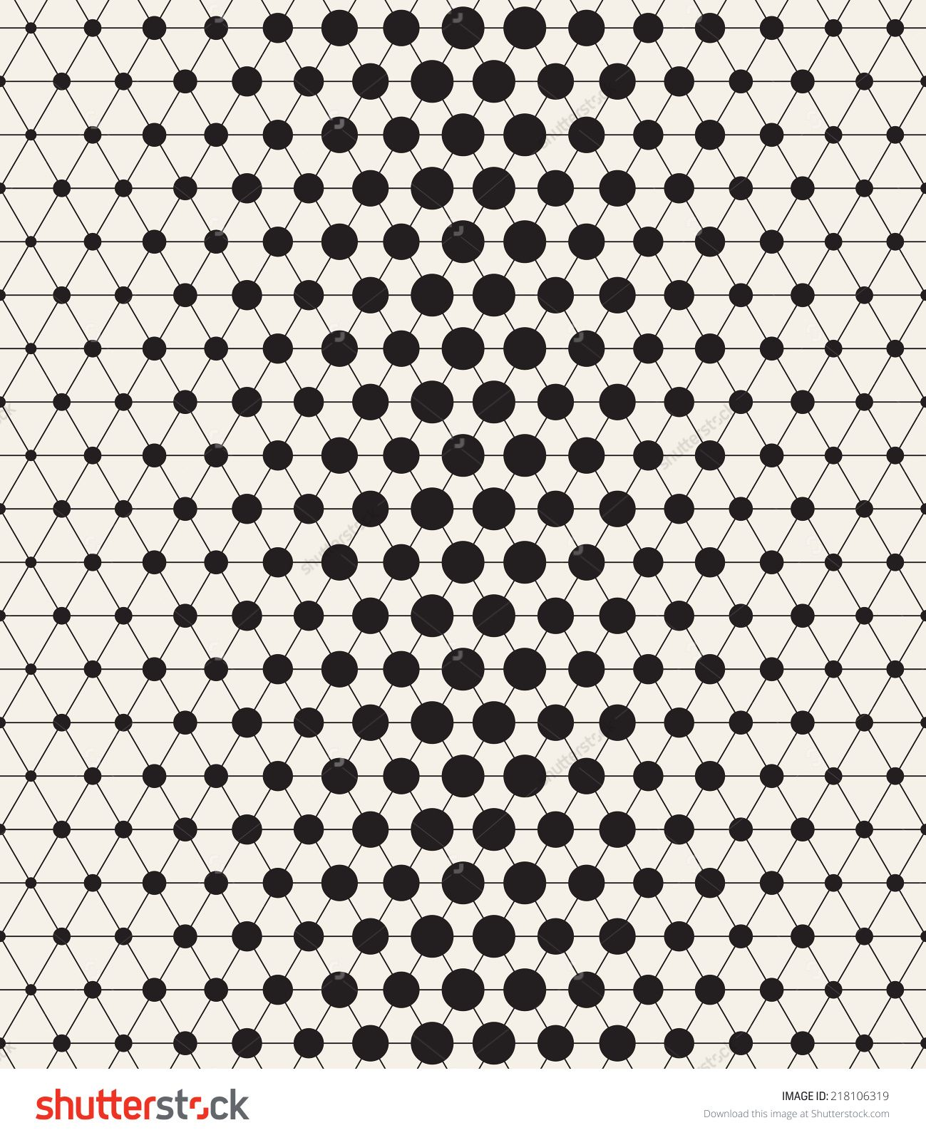 Vector seamless pattern. Modern stylish texture. Repeating ...