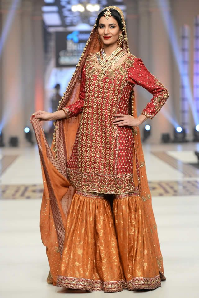 94508e511afc Umsha by Uzma Babar Collection at TBCW 2014