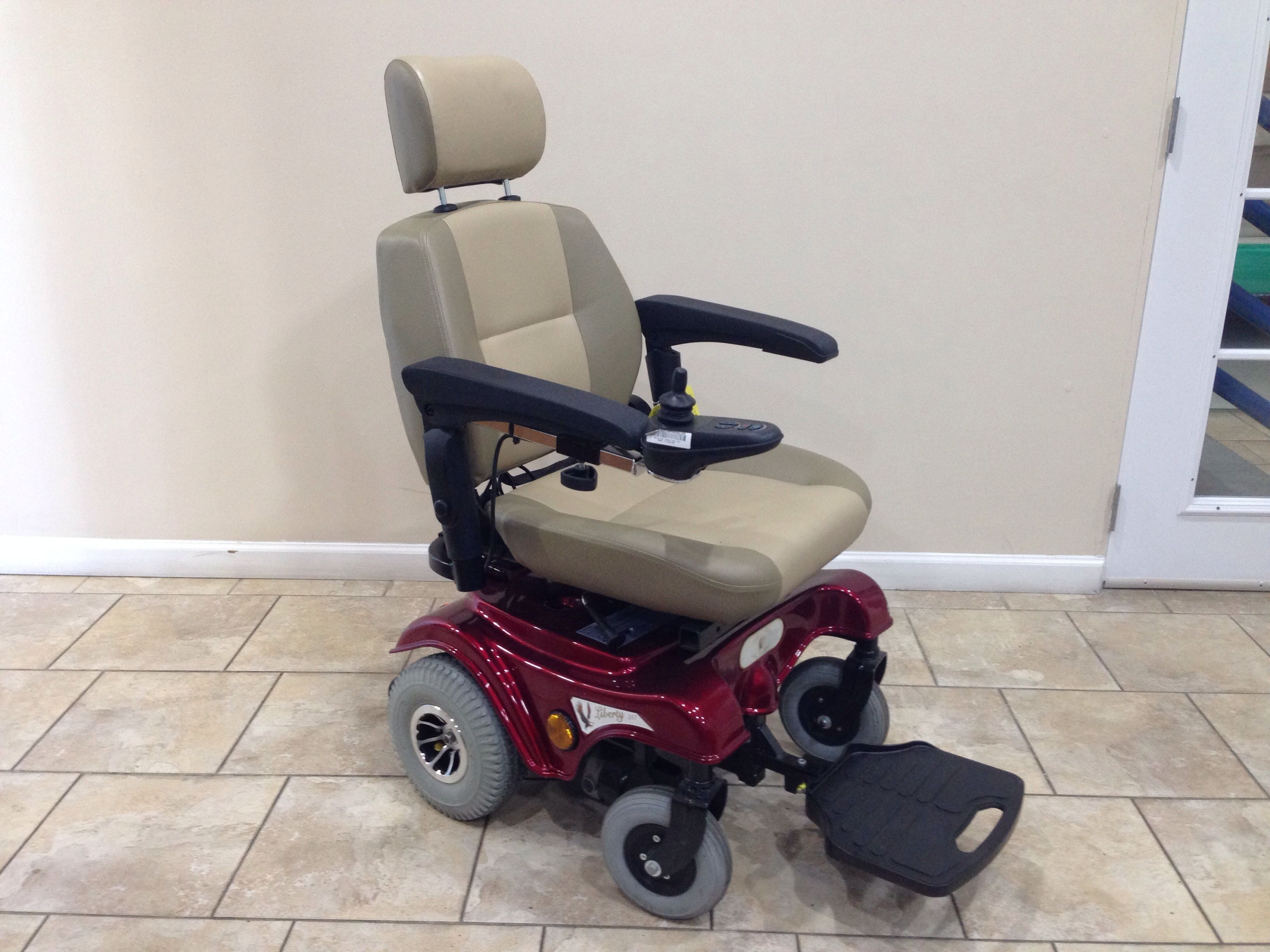 Used Power Chair Liberty 312 Power Chair Manual Recline Used Power