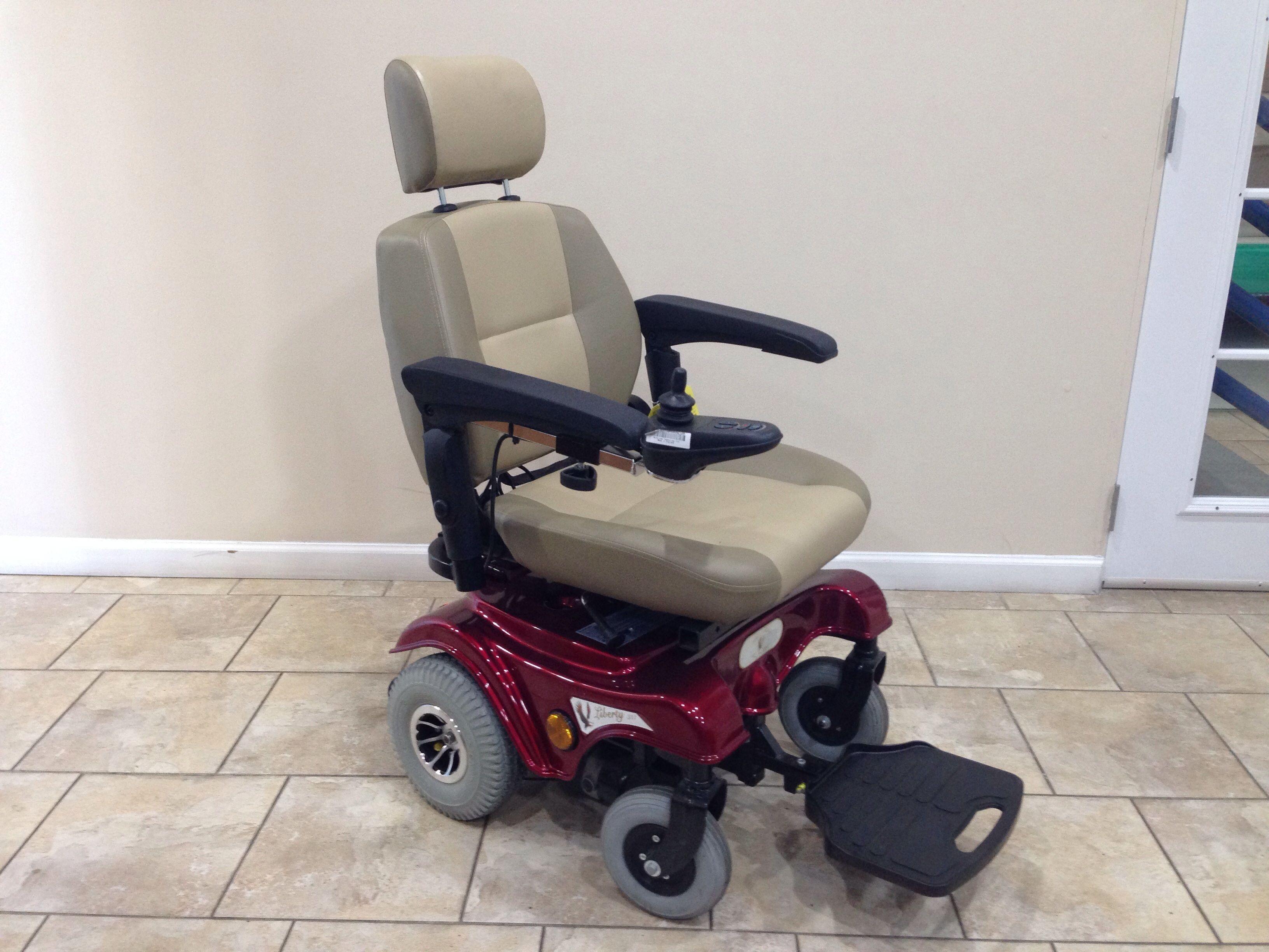 Liberty 312 Manual Recline Power Chair nboxmedical