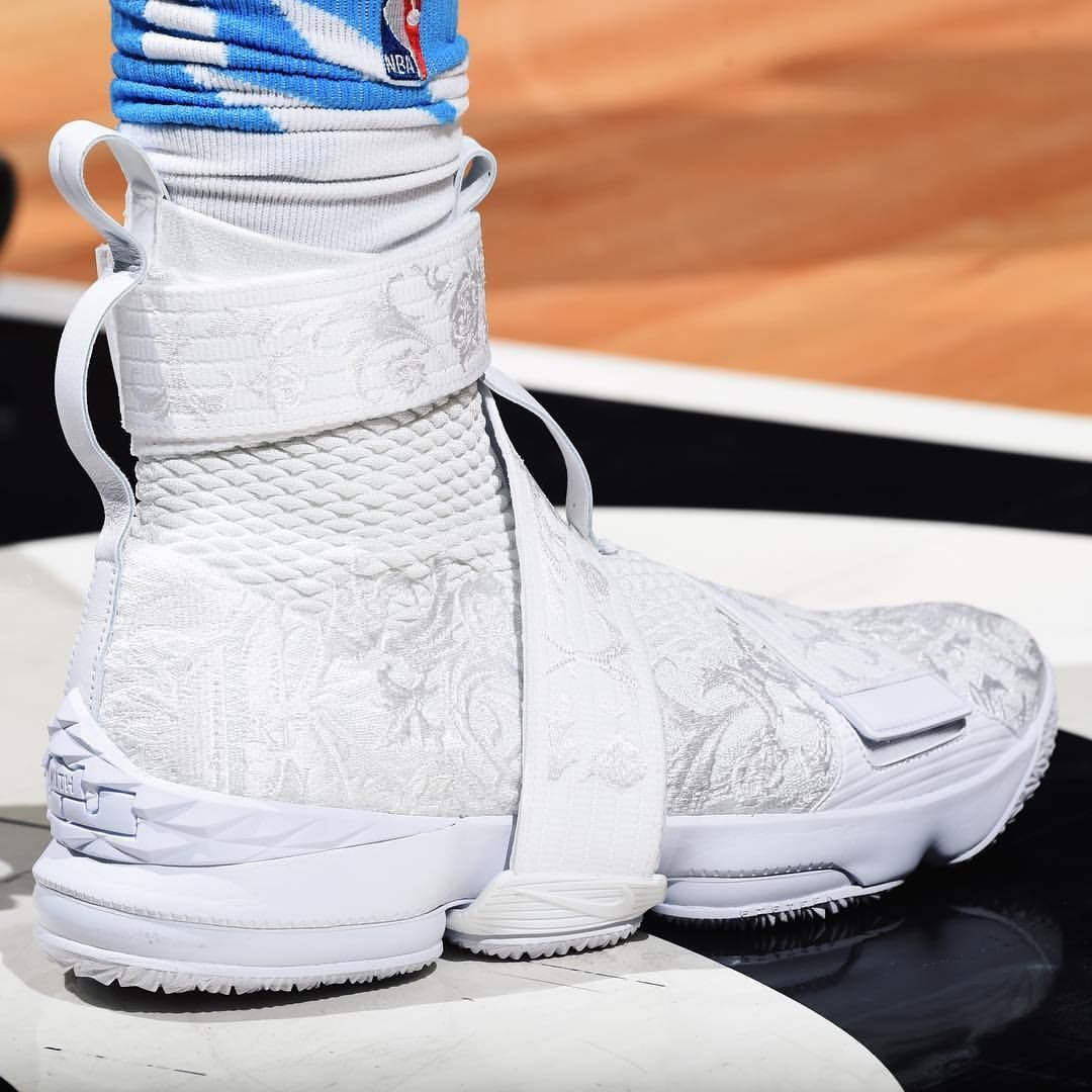 "the best attitude 38c67 9ec22  Trezz24 in the Kith Nike LeBron 15 Lifestyle ""City of Angels."" Too fire."