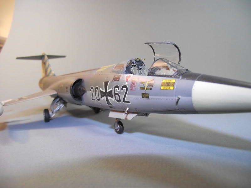 "Hasagawa 1:48 F-104G JBG32 Special ""Bavarian"" Scheme 1983 - Flory Models Forum for subscribers only"