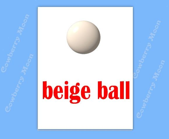 "Teach Baby to Read Book ""beige ball"" Page Instant Download,Homeschool Book ""beige ball"" Page,Learn To Read Printable Page,Flashcards by CowberryMoon on Etsy"