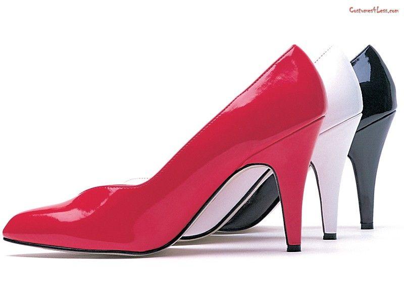 High Heel Wide Width Pump Shoesheel High Wide