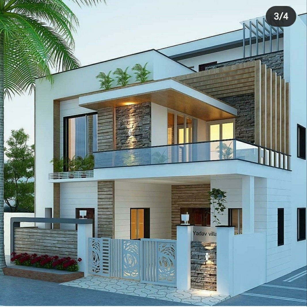 Pin By Universal Properties Surat On Home Exterior Design Ideas Modern Exterior House Designs Best Modern House Design Kerala House Design