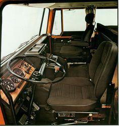 DAF 2800 cabine binnen