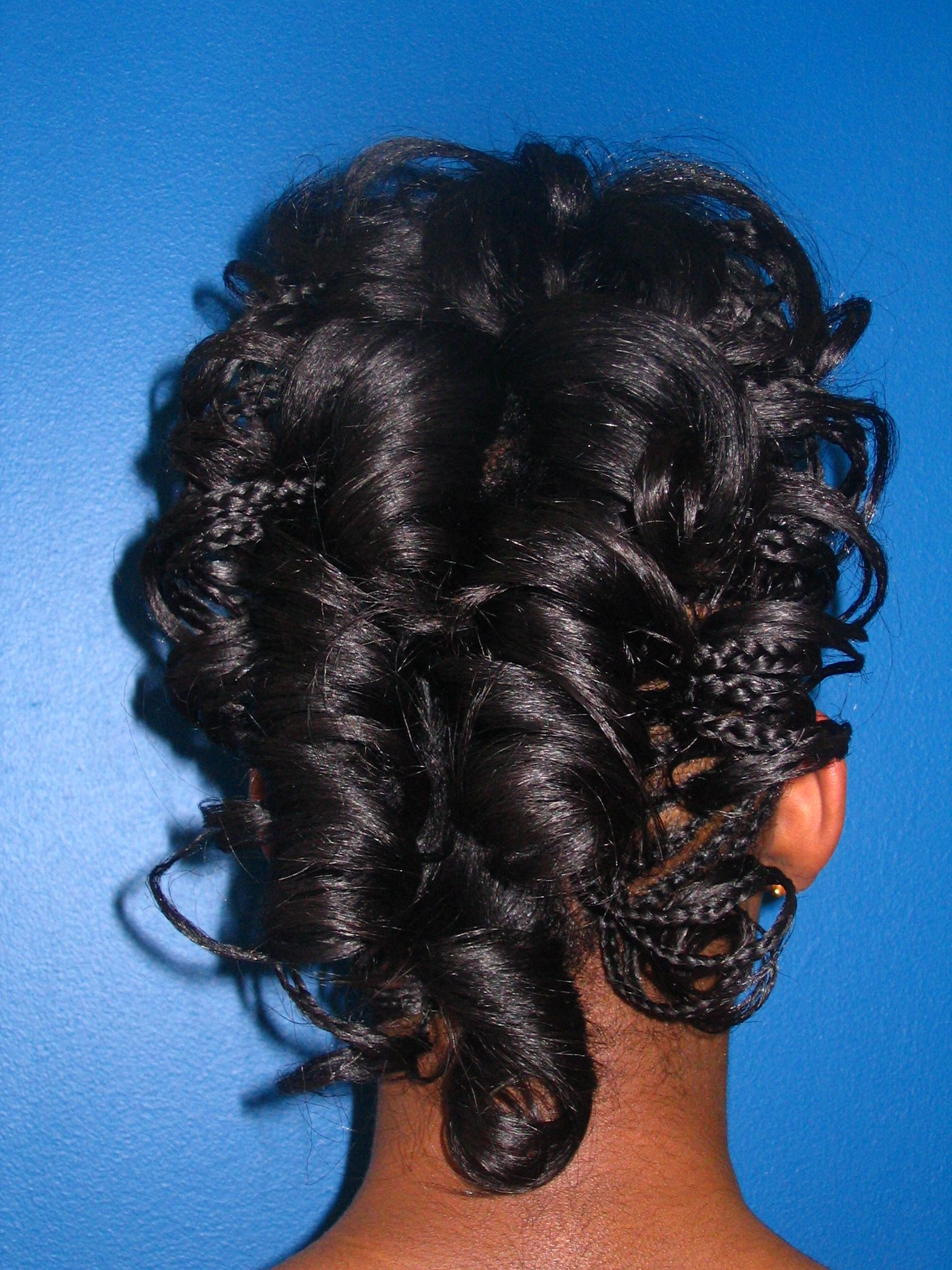 Back view of braid mohawk hair by me pinterest braided mohawk