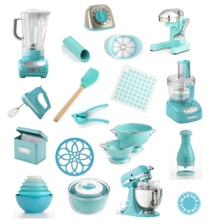 Any Kitchen Aid Accessory In Aqua Sky Color Target Has A