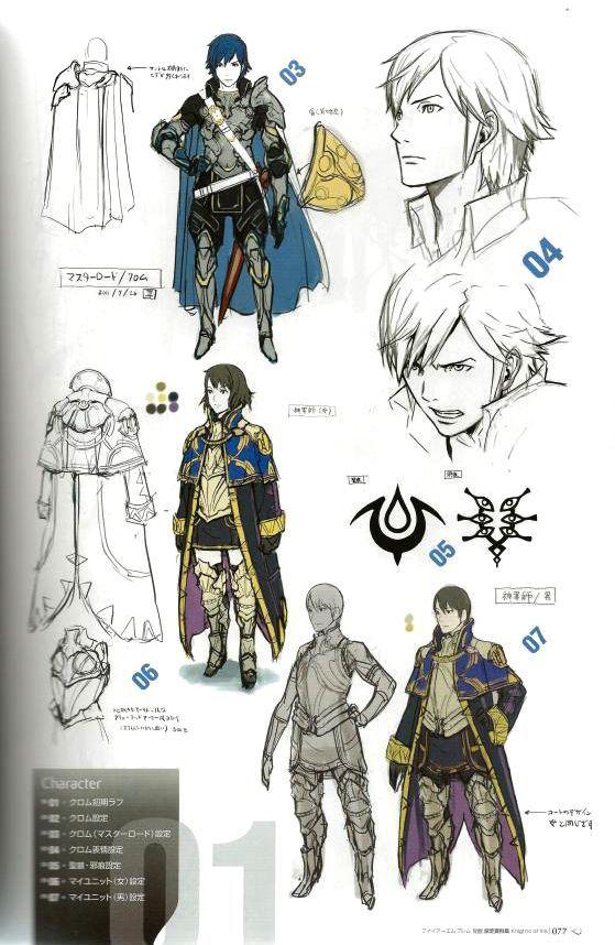 Character And Npc Design : Draw like fire emblem google search