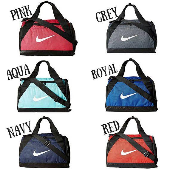 ad9923e9ff4a Swarovski Nike Brasilia Duffel Bag - BLING Nike Duffel Bag - X - SMALL Bag  - Gym Bag - Sports Bag -