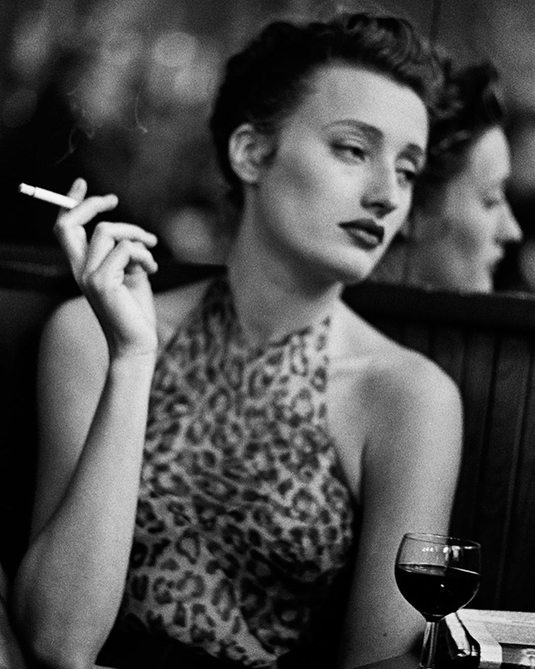 Marie sophie wilson for vogue france hotel du nord paris 1988 photographed by peter lindbergh